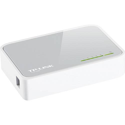 Switch não Gerenciável 5 Portas 10/100 TL-SF1005D - TP-Link