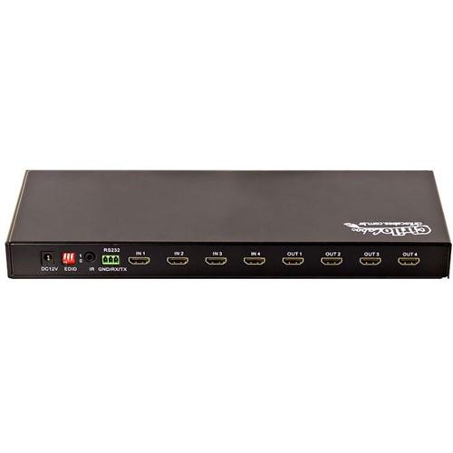 Switch/Splitter Matrix 4x4 HDMI 3D Full HD