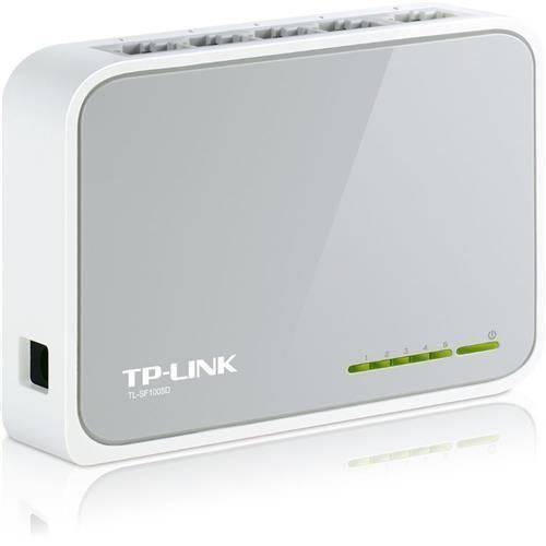 Switch Tp-Link 5 Portas 10/100 - Tl-Sf1005d