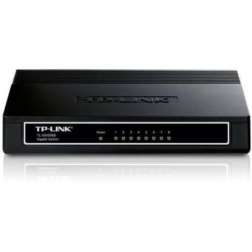 Switch TP-LINK 8 Portas TL-SG1008D 10/100/1000MBPS - TPN0021