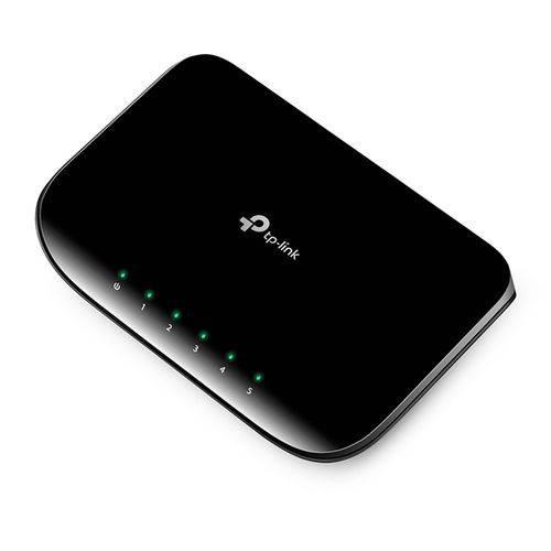 Switch TP-Link Gigabit 5 Portas 10/100/1000 Mbps TL-SG1005D