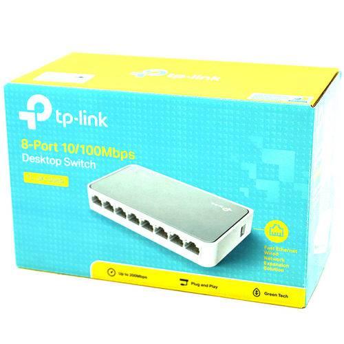 Switch Tp-link Tl-sf1008d 8 Portas