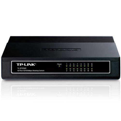 Switch Tp-link Tl-sf1016d 16 Portas