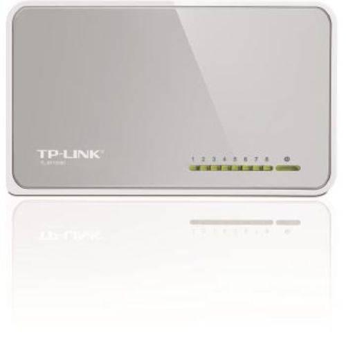 Switch Tplink Sf1008d 8 Portas 10/100mbps - Tl-sf1008d Bivolt