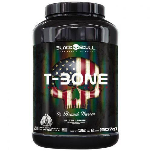 T-Bone 907g Caramelo - Black Skull
