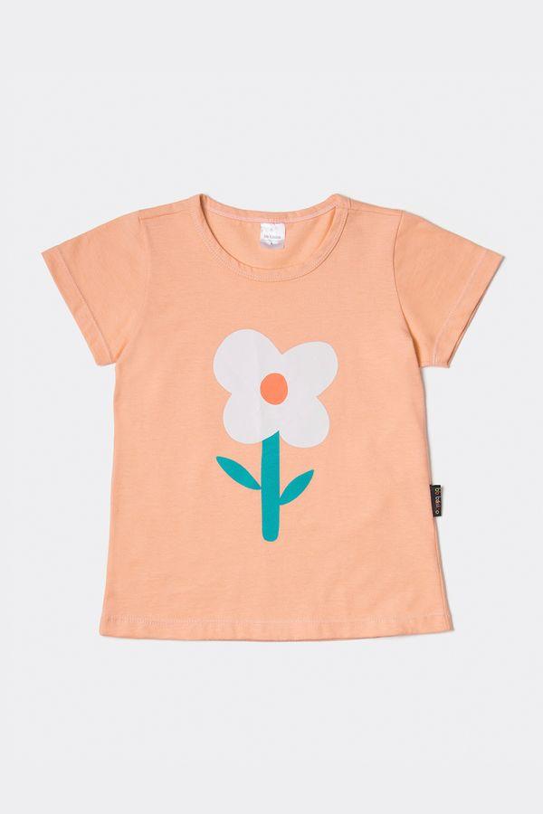 T-shirt Ampla Liberty 2 a 7 Anos - Bb Básico 02 - ROSE