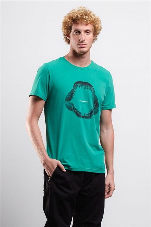 T-shirt Anss Teeth Verde P