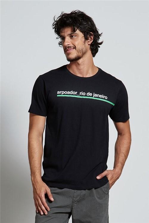 T-shirt Arpoador Sideline Preto G