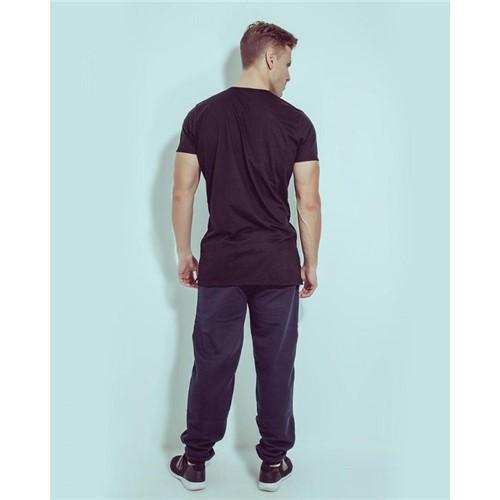 T-shirt Basic Comfort Preto G