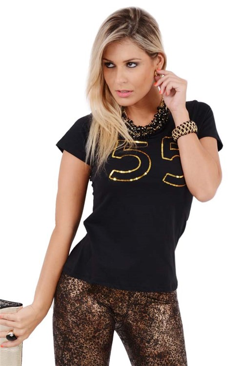 T-Shirt Básica 55 BL0846 - M