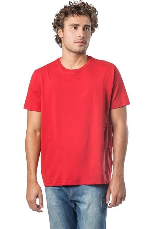 T-Shirt Básica Comfort Vermelho Vermelho/M