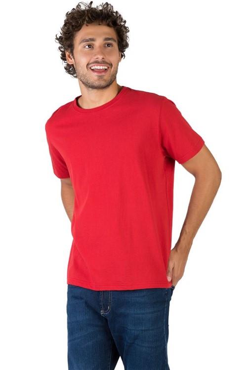 T-Shirt Básica Comfort Vermelho Vermelho/P