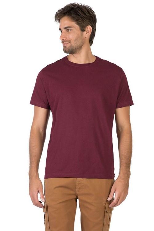 T-Shirt Básica Comfort Vinho VINHO/P