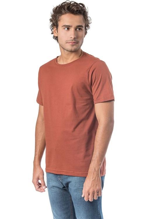 T-Shirt Básica Fit Telha TELHA/P