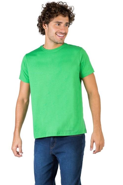 T-Shirt Básica Fit Verde VERDE/P