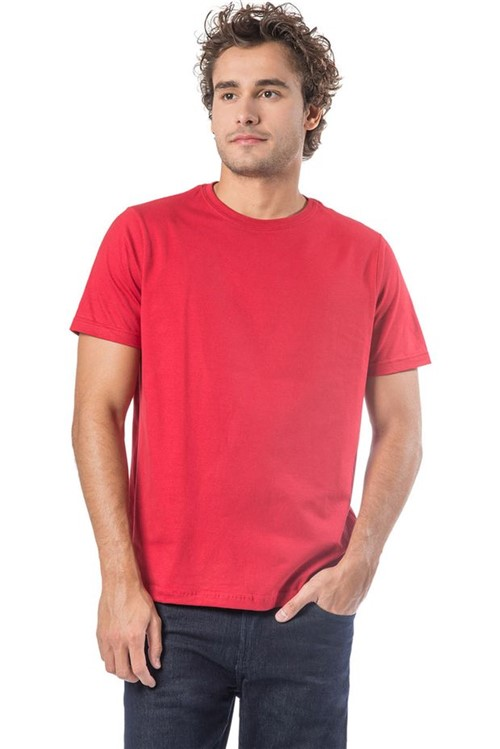 T-Shirt Básica Fit Vermelho Vermelho/M