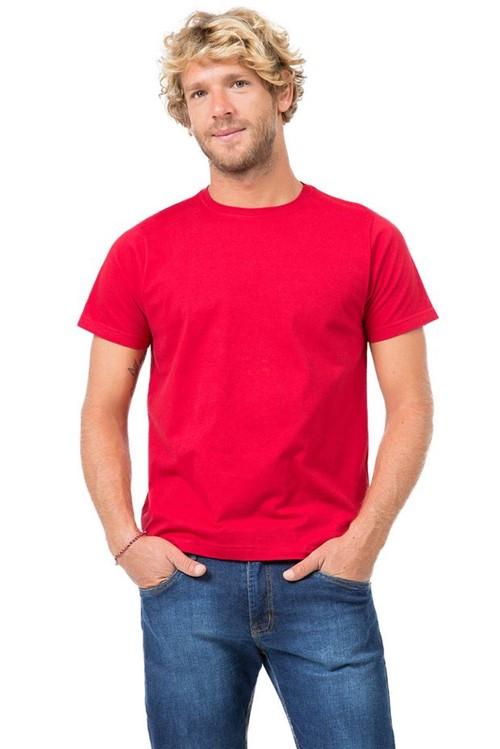 T-Shirt Básica Fit Vermelho Vermelho/P