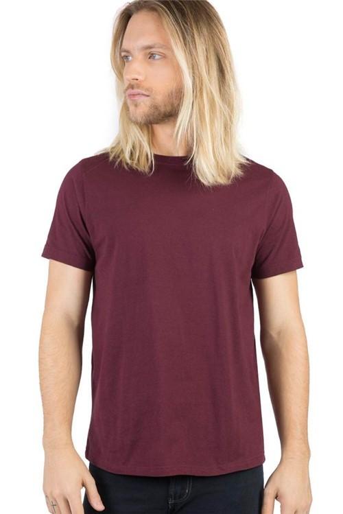 T-Shirt Básica Fit Vinho VINHO/G