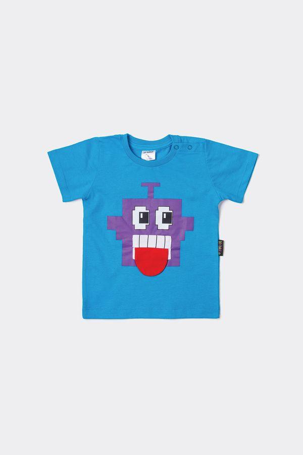 T-shirt Bb Mc Bocão M - Azul