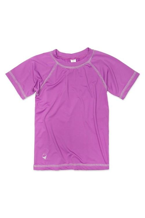 T-shirt Bb Mg Curta Uv M - Violeta