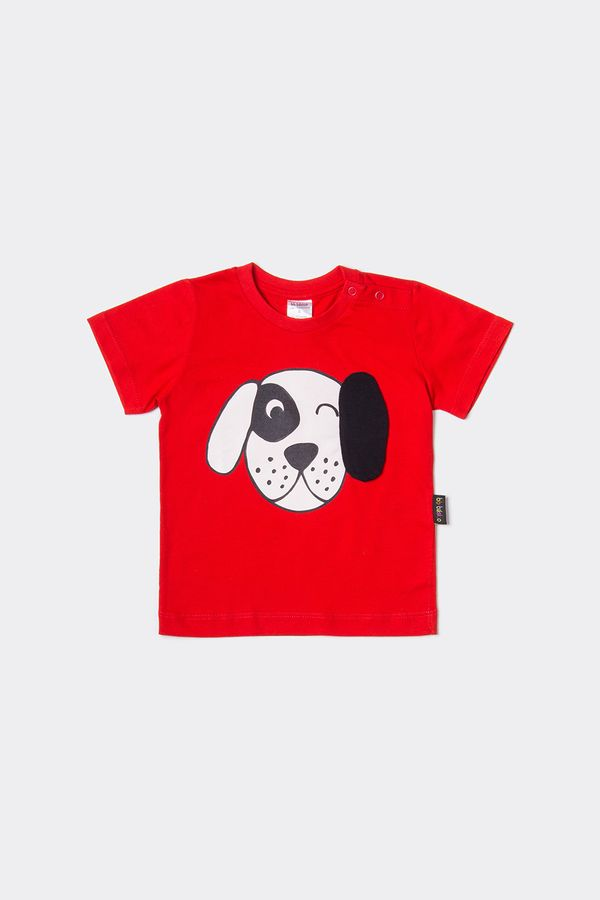 T-shirt Bb Piscadela M - Vermelho