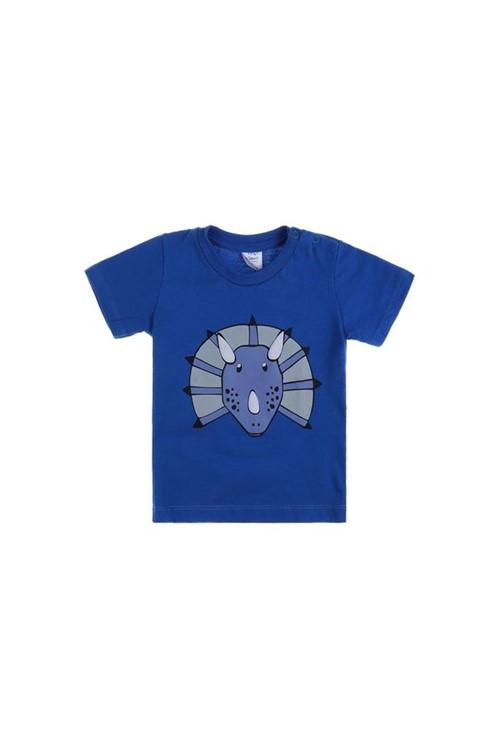 T-shirt Bebê Fred M - Azul Royal