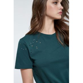 T-Shirt Bella Colors Verde Pinho - G