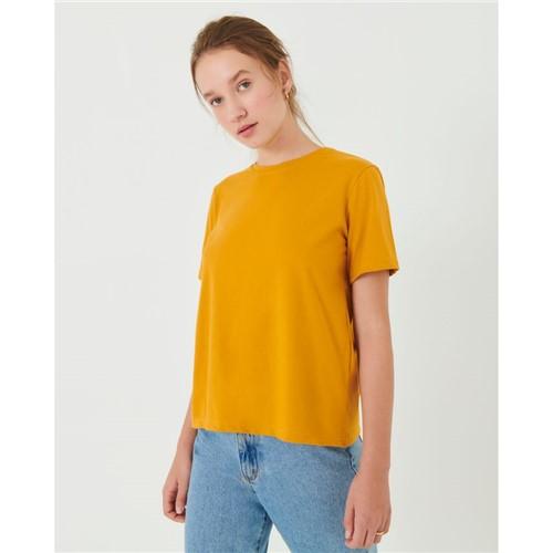 T-Shirt Boyfriend Amarelo M