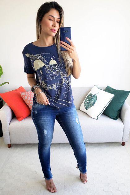 T-shirt Cantão Local Grecia