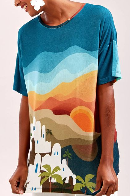 T-shirt Cantão Local Ilha L73