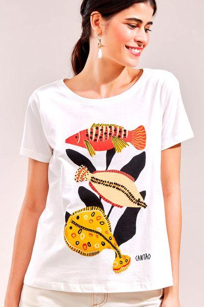 T-shirt Cantão Local Sea