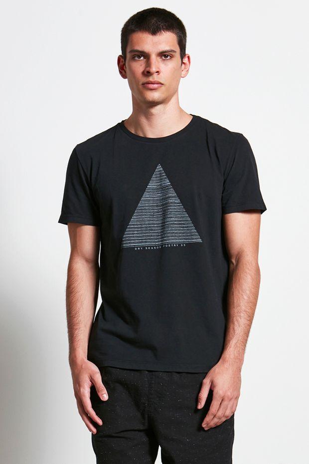 T-shirt Dry Preto G