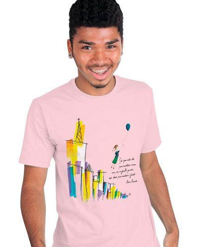T-shirt Elisa Lucinda Rosa