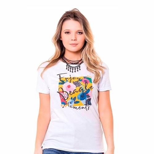 T-shirt Feminina Estampada Artsy