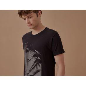 T-Shirt Fotografia Tropical Preto - P