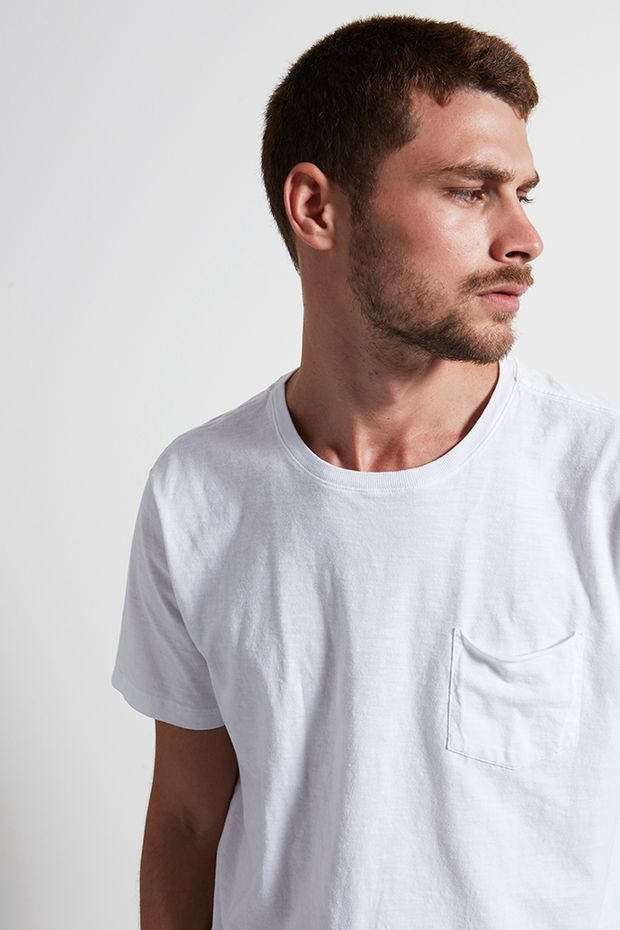 T-shirt Grumari Basic Branco G
