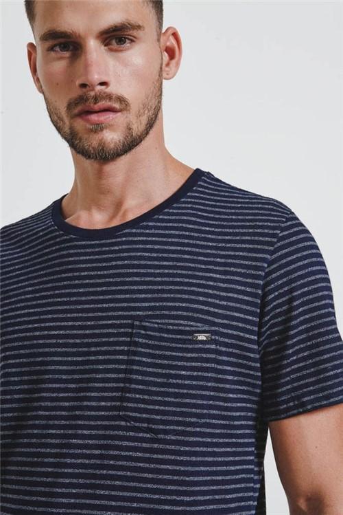 T-shirt Indigo Stripes Indigo G