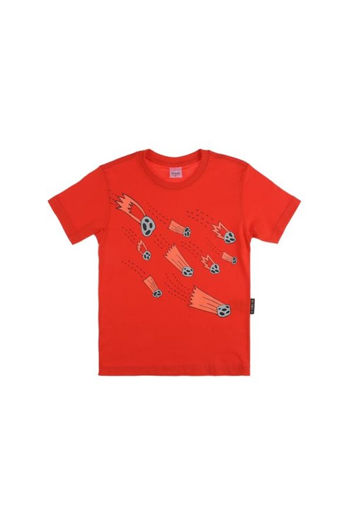 T-shirt Infantil Cometa 02 - Vermelho