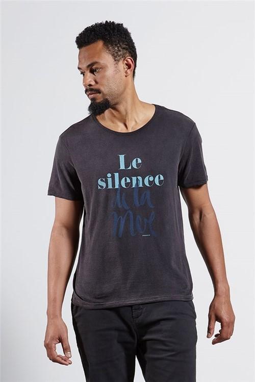 T-shirt Le Silence Preto G