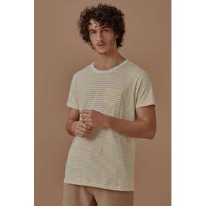 T-Shirt Listra Gavea Amarelo - G