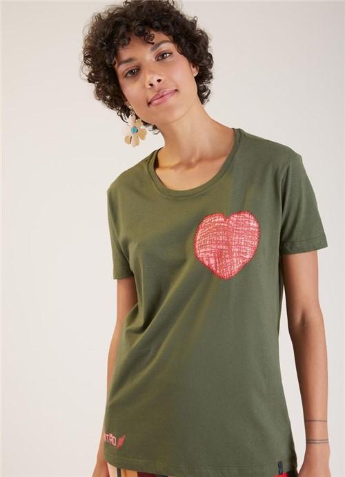 T-shirt Local Crayola Verde Escuro P