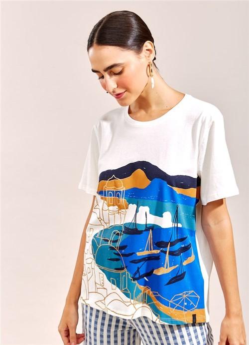 T-Shirt Local Porto BRANCO G