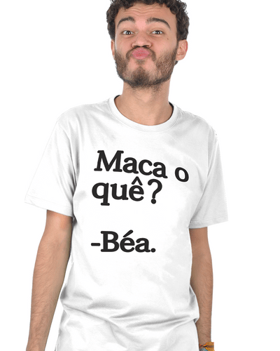 T-shirt Maca-béa Branca