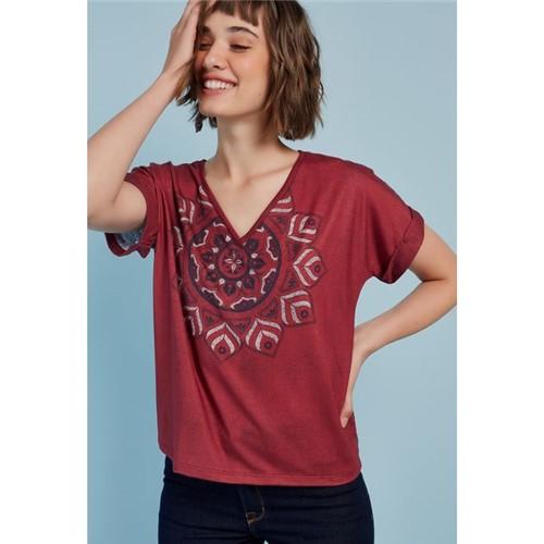 T-Shirt Malha Mandala Índia UNICA/G