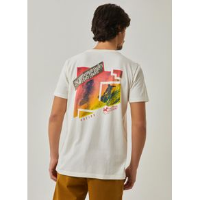 T-shirt Manga Curta Silk Morey BRANCO G