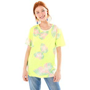 T-Shirt Maxi Borbobrisa Amarelo Est Borborbrisa_Mini_Amar - P