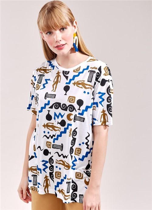 T-Shirt Minotauro Full BRANCO G