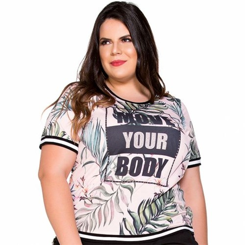 T-Shirt Move Your Body Plus Size PP