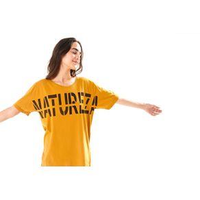 T-Shirt Natureza Ocre - G