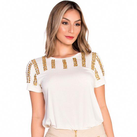 T-Shirt Pedrarias Frontal G